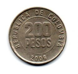 Colômbia - 2006 - 200 Pesos