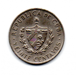Cuba - 1962 - 20 Centavos