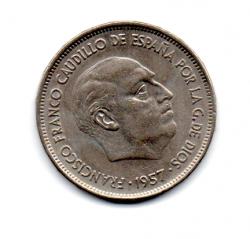 Espanha - 1970  (Data Dentro das Estrelas) - 25 Pesetas
