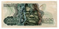 Cambodja - 1.000 Riels - Cédula Estrangeira