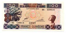 Guiné - 100 Francs - Cédula Estrangeira
