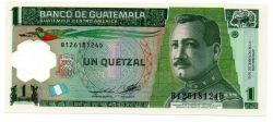 Guatemala -  Quetzal - Cédula Estrangeira