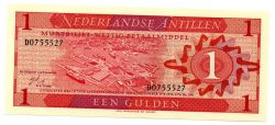 Antilhas Holandesas - 1 Gulden - Cédula Estrangeira