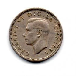 Grã-Bretanha - 1947 - 6 Pence