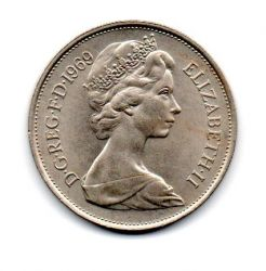 Grã-Bretanha - 1969 - 10 New Pence