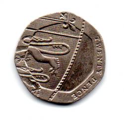 Grã-Bretanha - 2009 - 20 Pence