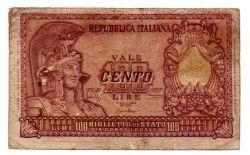 Itália - 100 Lire - Cédula Estrangeira