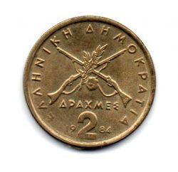 Grécia - 1984 - 2 Drachmai