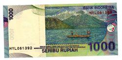 Indonésia - 1.000 Rupiah - Cédula Estrangeira