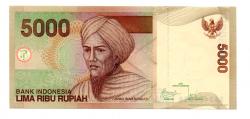 Indonésia - 5.000 Rupiah - Cédula Estrangeira