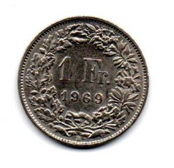 Suiça - 1969 - 1 Franc