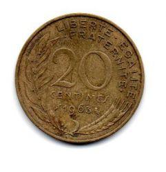 França - 1963 - 20 Centimes