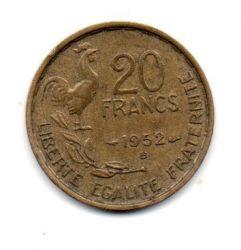 França - 1952 - 20 Francs