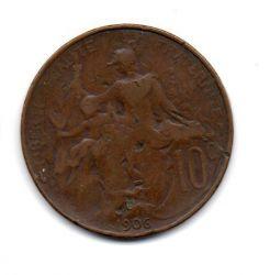 França - 1906 - 10 Centimes