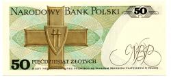 Polônia - 50 Zlotych - Cédula Estrangeira