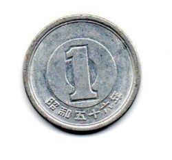 Japão - 1981 - 1 Yen