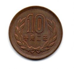 Japão - 1990 - 10 Yen