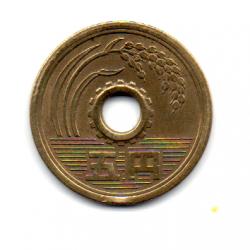 Japão - 1964 - 5 Yen