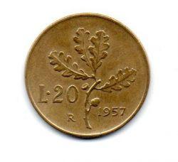 Italia - 1957 - 20 Lire