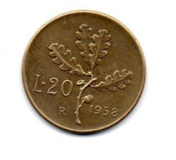 Italia - 1958 - 20 Lire