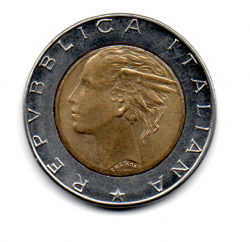 Italia - 1989 - 500 Lire