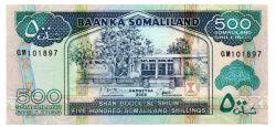 Somalilândia - 500 Somaliland Shillings - Cédula Estrangeira