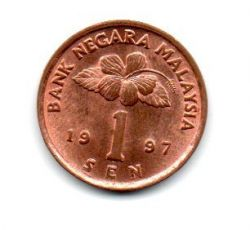 Malásia - 1997 - 1 Sen