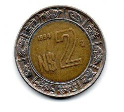 México - 1994 - 2 Nuevos Pesos