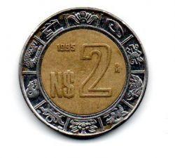 México - 1995 - 2 Nuevos Pesos