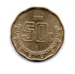 México - 2001 - 50 Centavos