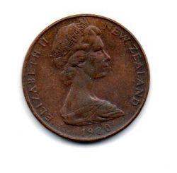 Nova Zelândia - 1980 - 2 Cents