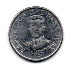 Paraguai - 1980 -  50 Guaranies