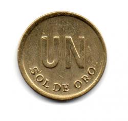 Peru - 1975 -  1 Sol