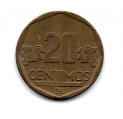 Peru - 2007 -  20 Céntimos