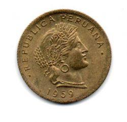 Peru - 1959 -  20 Centavos