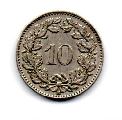 Suíça - 1957 - 10 Rappen
