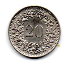 Suíça - 1961 - 20 Rappen