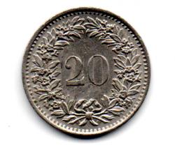 Suíça - 1970 - 20 Rappen