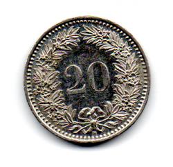 Suíça - 1987 - 20 Rappen