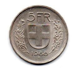 Suíça - 1968 - 5 Francs