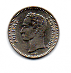 Venezuela - 1965 - 25 Centimos