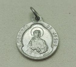 Medalha Religiosa Sagrado Coração de Jesus - 18mm