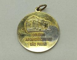 Medalha Esportiva Colégio Arquidiocesano São Paulo - 34mm