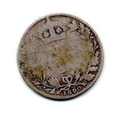 Grã-Bretanha - 1890 - 6 Pence - Prata .925 - Aprox. 2,82 g - 19mm