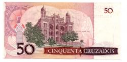 C183 - 50 Cruzados - Oswaldo Cruz - Data: 1987 - Estado de Conservação: Soberba (SOB)