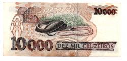 C223 - 10000 Cruzeiros - Vital Brazil - Data: 1991 - Estado de Conservação: (MBC/SOB)
