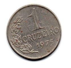 1975 - 1 Cruzeiro - Moeda Brasil - Estado de Conservação: Bem Conservada (BC)