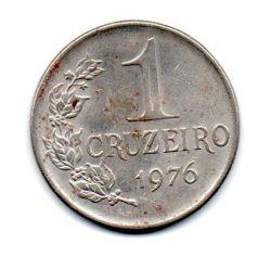 1976 - 1 Cruzeiro - Moeda Brasil - Estado de Conservação: Muito Bem Conservada (BC)