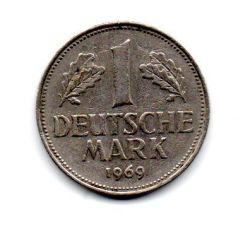 Alemanha - 1969G - 1 Mark