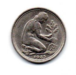 Alemanha - 1983D - 50 Pfennig